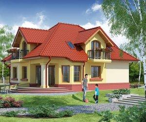 Bir Buçuk Katlı Çelik Villa Evler